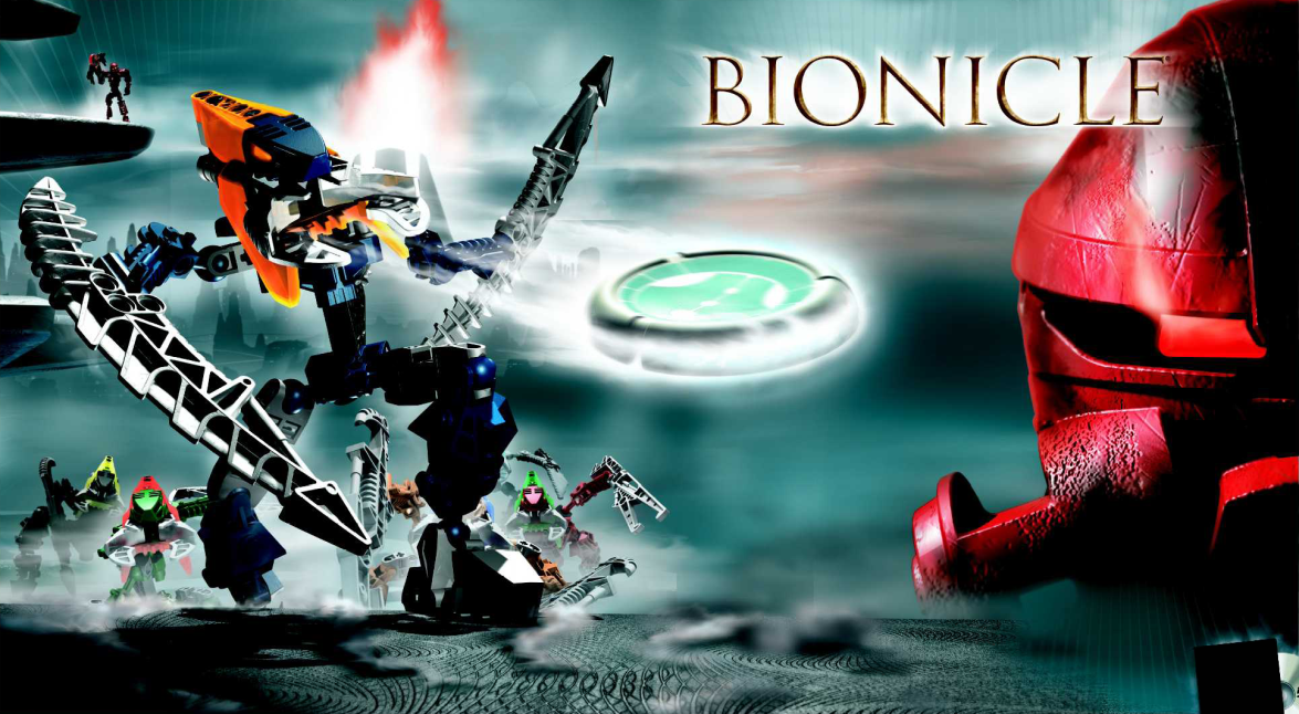[BIONICLE] Voyage nostalgique  - Page 2 Promo_Art_Vahki_and_Teridax_Dume