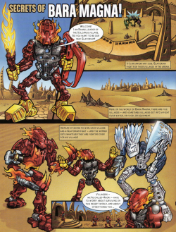 [Culture] Votre illustrateur de BIONICLE préféré ? 250px-Secrets_of_Bara_Magna%21_Page_1