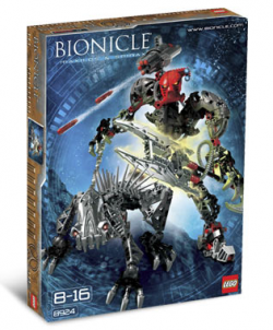 bionicle maxilos and spinax instructions